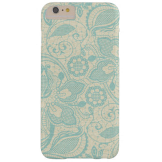 Teal Lace iPhone 6 Case