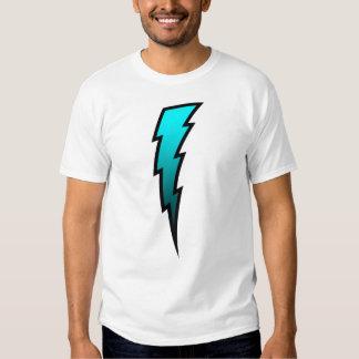 Teal Lightning Bolt Shirts