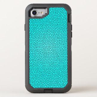 Teal Mermaid Print Design OtterBox Defender iPhone 7 Case
