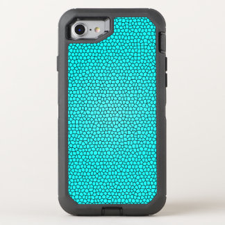 Teal Mermaid Print Design OtterBox Defender iPhone 8/7 Case