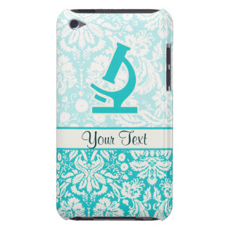 Teal Microscope Cute iPod Touch Cases