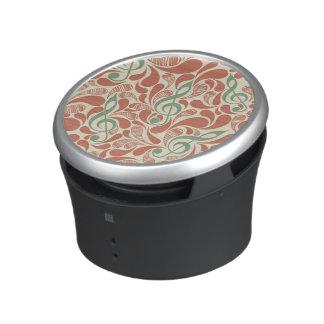 Teal Music Groovy Design Bluetooth Speaker