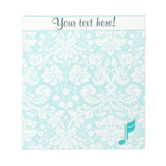 Teal Music Note
