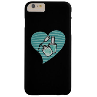 Teal Nail polish Barely There iPhone 6 Plus Case