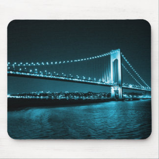 Teal Narrows Bridge mousepad