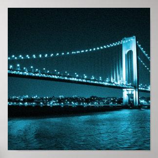Teal Narrows Bridge print