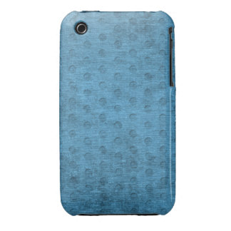 Teal Nubby Chenille Fabric iPhone 3 Case