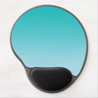 """Teal Ombre"" Gel Mouse Pad"