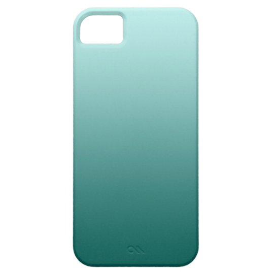 Teal Ombre iphone case