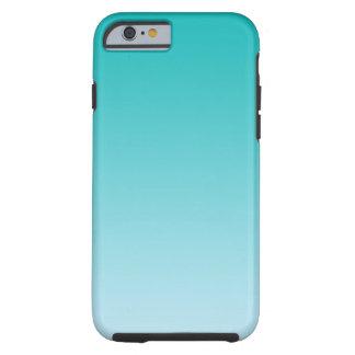 Teal Ombre Tough iPhone 6 Case
