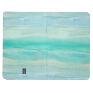 Teal Ombre Watercolor Journal