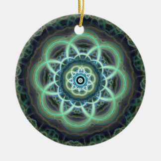 Teal Ornament