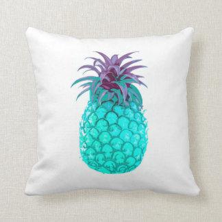 Teal Pineapple Cushion