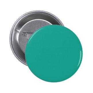 TEAL Pop of Color Template V38 Pinback Button