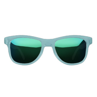Teal & Purple Mirror Sunglasses