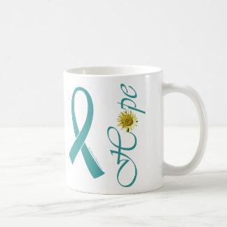 Teal Ribbon Hope Mug