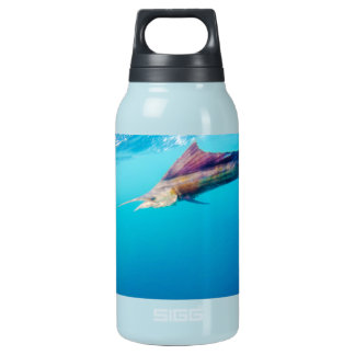 Teal sailfish thermas insulated water bottle