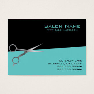Teal Salon Business - Punch Cards