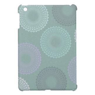 Teal Sea Foam Green Lace Doily iPad Mini Case