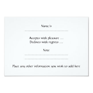 Teal Seahorse 9 Cm X 13 Cm Invitation Card