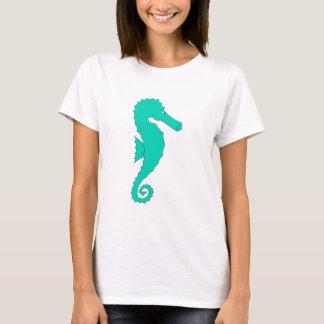 Teal Seahorse T-Shirt