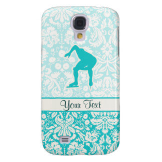 Teal Speed Skater Galaxy S4 Case