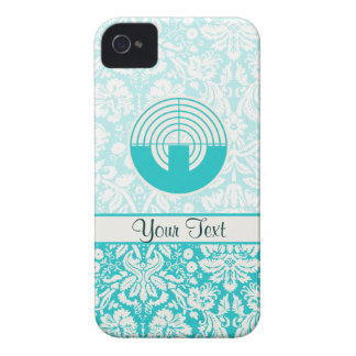 Teal Sport Shooting iPhone 4 Covers