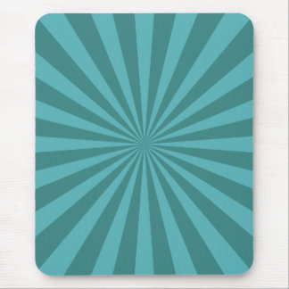 Teal StarBurst Mouse Mat