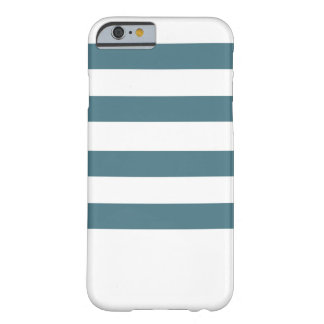Teal Striped iPhone Case