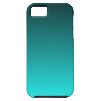 Teal to Aqua Gradient Tough iPhone 5 Case