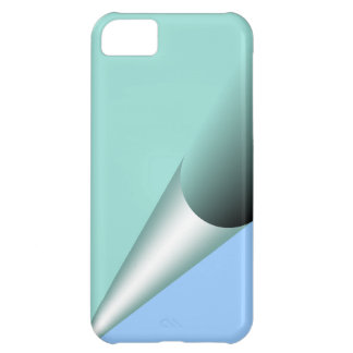 Teal to Blue Page Curl Casemate iPhone 5C Case