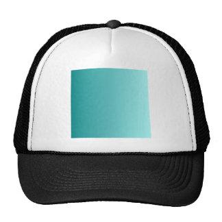 Teal to Celeste Vertical Gradient Trucker Hats