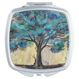 Teal Tree Compact Mirrors