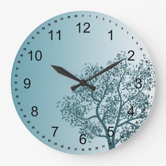 Teal Tree Wallclocks