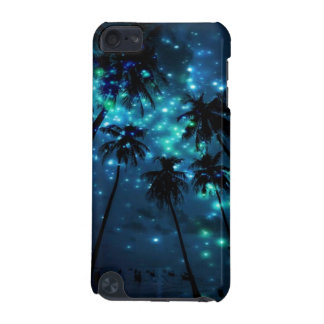 Teal Tropical Paradise iPod Touch 5g Phone Case