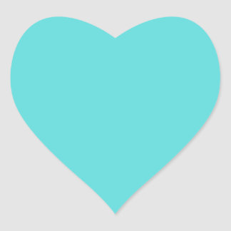 Teal Turquoise Custom Gift Stickers