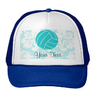 Teal Volleyball Cap