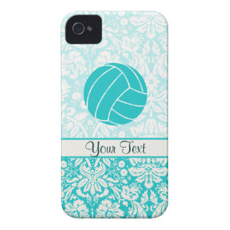 Teal Volleyball Case-Mate iPhone 4 Case