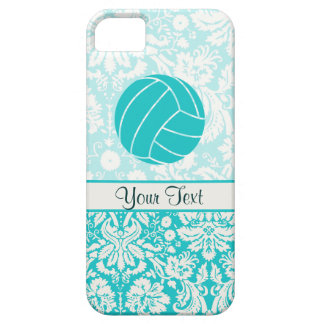 Teal Volleyball iPhone 5 Case