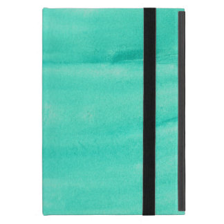 Teal Watercolor IPad Mini Case