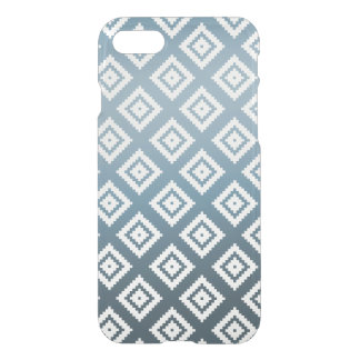 Teal White Tribal Aztec iPhone 7 Case