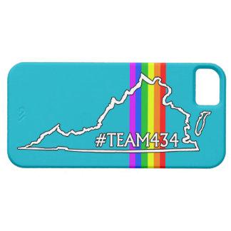 #TEAM434 - PHASE II RAINBOW iPhone 5 COVER