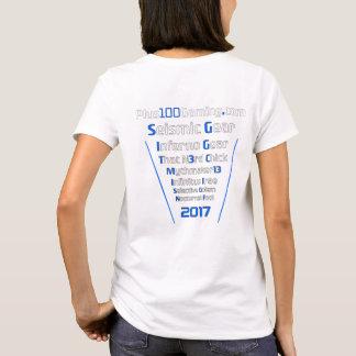Team +100 Gaming T-Shirt 2017 Womens