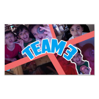 Team 3 Official Poster
