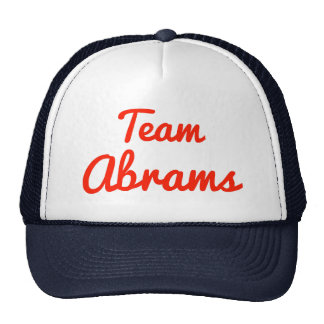 Team Abrams Hats