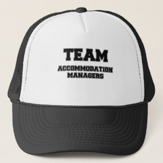 Team Accommodation Managers Trucker Hat