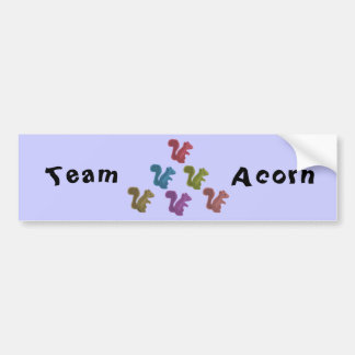 Team Acorn Bumper Sticker
