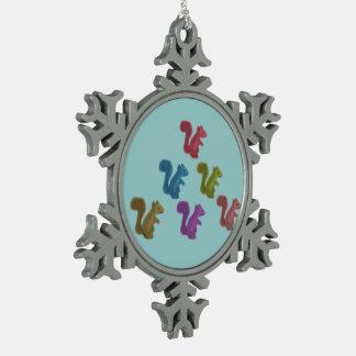 Team Acorn Snowflake Ornament