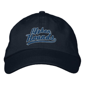 Team Afghan Hounds Embroidered Hat Embroidered Hat