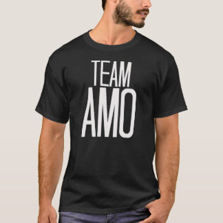 Team Amo T-shirt in black